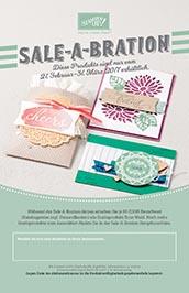 Sale-A-Bration Gratisprodukte