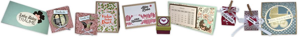Stempelhafen – Basteln mit Papier in Hamburg mit Produkten von Stampin' Up!