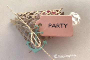 Traum vom Meer maritimes Gastgeschenk - Goodie zur Party - DIY Bastelbedarf von Stampin' Up! - Basteln im Stempelhafen aus Hamburg
