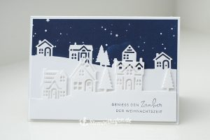 Geniess den Zauber der Weihnachtszeit Karte