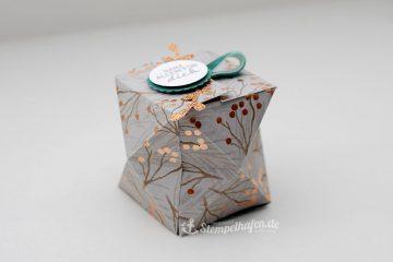 Facettenbox für dich - DIY Basteln mit Stampin' Up! Materialien fürs Hobby in Hamburg