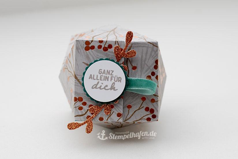 Facettenbox - Verpackung ganz allein für dich von oben