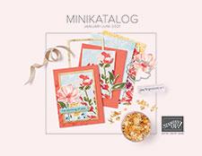Stampin Up Minikatalog 2021 Frühjahr Sommer